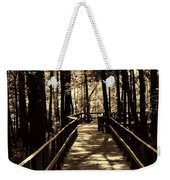 Moores Creek Battlefield  Nc Swam Bridge  Weekender Tote Bag