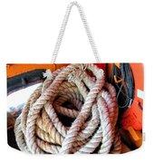 Mooring Line Weekender Tote Bag