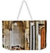 Moorish Chair And Alcove At The Alhambra Weekender Tote Bag