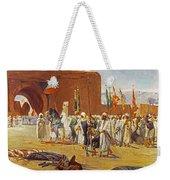 Moorish Procession Weekender Tote Bag