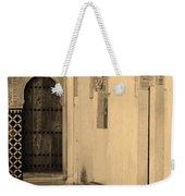 Moorish Walkway In Sepia At The Alhambra Weekender Tote Bag
