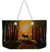 Moose Hideout Weekender Tote Bag