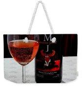 Moose Joose - Blueberry Partridgeberry Wine  Weekender Tote Bag