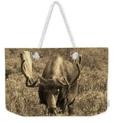 Moose Weekender Tote Bag