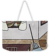 Essence Of Home - Mop And Bucket Weekender Tote Bag