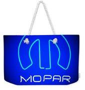 Mopar Neon Sign Weekender Tote Bag