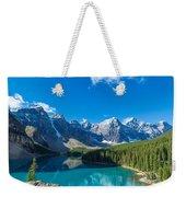 Moraine Lake At Banff National Park Weekender Tote Bag