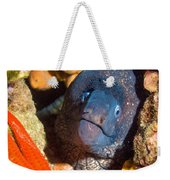 Moray And Starfish Weekender Tote Bag