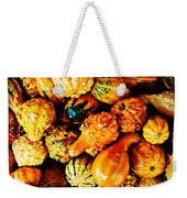 More Beautiful Gourds - Heralds Of Fall Weekender Tote Bag