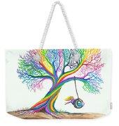 More Rainbow Tree Dreams Weekender Tote Bag