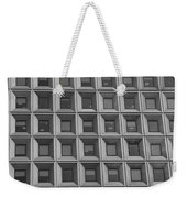 More Windows In Black And White Weekender Tote Bag