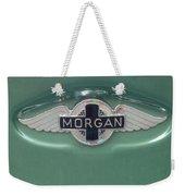 Morgan Car Emblem Weekender Tote Bag