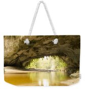 Moria Gate Arch In Opara Basin On South Island In Nz Weekender Tote Bag