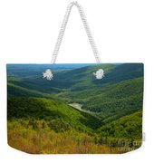 Moormans River Overlook In Spring Weekender Tote Bag