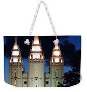 Mormon Temple Lds Utah Weekender Tote Bag