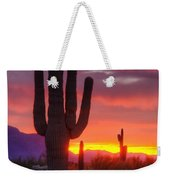 Morning Arizona Style  Weekender Tote Bag