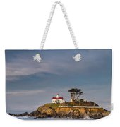 Morning At Battery Point Lighthouse Weekender Tote Bag