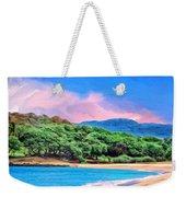 Morning At Papohaku Beach  Weekender Tote Bag