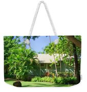 Morning At The Cabin Weekender Tote Bag