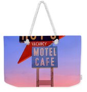 Morning At The Edge Of Nowhere Weekender Tote Bag