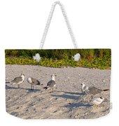 Morning Beach Cleaning Crew Weekender Tote Bag