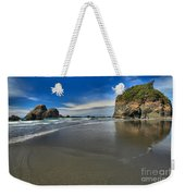 Morning Beach Reflections Weekender Tote Bag
