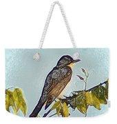 Morning Bird Weekender Tote Bag