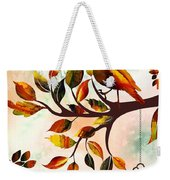 Morning Bird Weekender Tote Bag