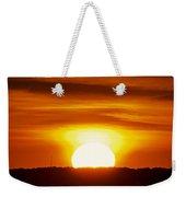 Morning Blaze Weekender Tote Bag