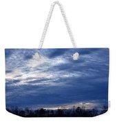 Morning Blue Weekender Tote Bag
