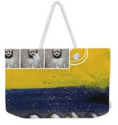 Morning Buddha Weekender Tote Bag
