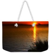 Morning By The Shore Weekender Tote Bag