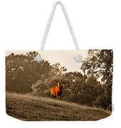 Morning Call Weekender Tote Bag