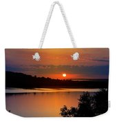 Morning Calm Weekender Tote Bag by Christina Rollo