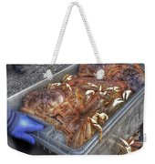 Morning Catch Weekender Tote Bag