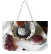 Morning Coffee Soap Weekender Tote Bag