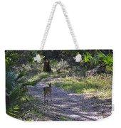 Morning Deer Weekender Tote Bag