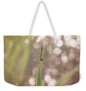 Morning Dew On A Grass Weekender Tote Bag