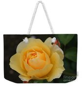Morning Dew Rose Weekender Tote Bag