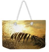 Morning Dew Screen Weekender Tote Bag