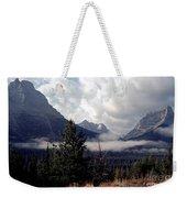 Morning East Glacier Park Weekender Tote Bag