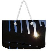 Morning Fence Weekender Tote Bag