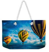 Morning Flight Hot Air Balloons Weekender Tote Bag