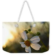 Morning Flower Weekender Tote Bag
