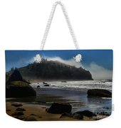 Morning Fog Burn Weekender Tote Bag