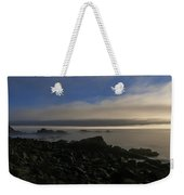 Morning Fog Burning Off At Quoddy Weekender Tote Bag