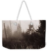 Morning Fog In The Smoky Mountains Weekender Tote Bag by Dan Sproul