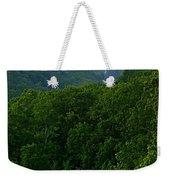 Morning Fog On Blue Ridge Weekender Tote Bag