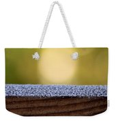 Morning Frost Abstract Weekender Tote Bag