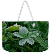 Morning Frost Weekender Tote Bag